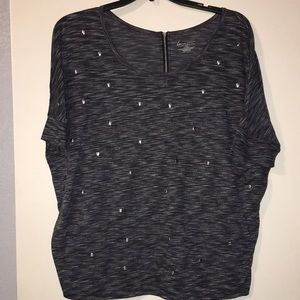 Lane Bryant size 18/20 skull studded top